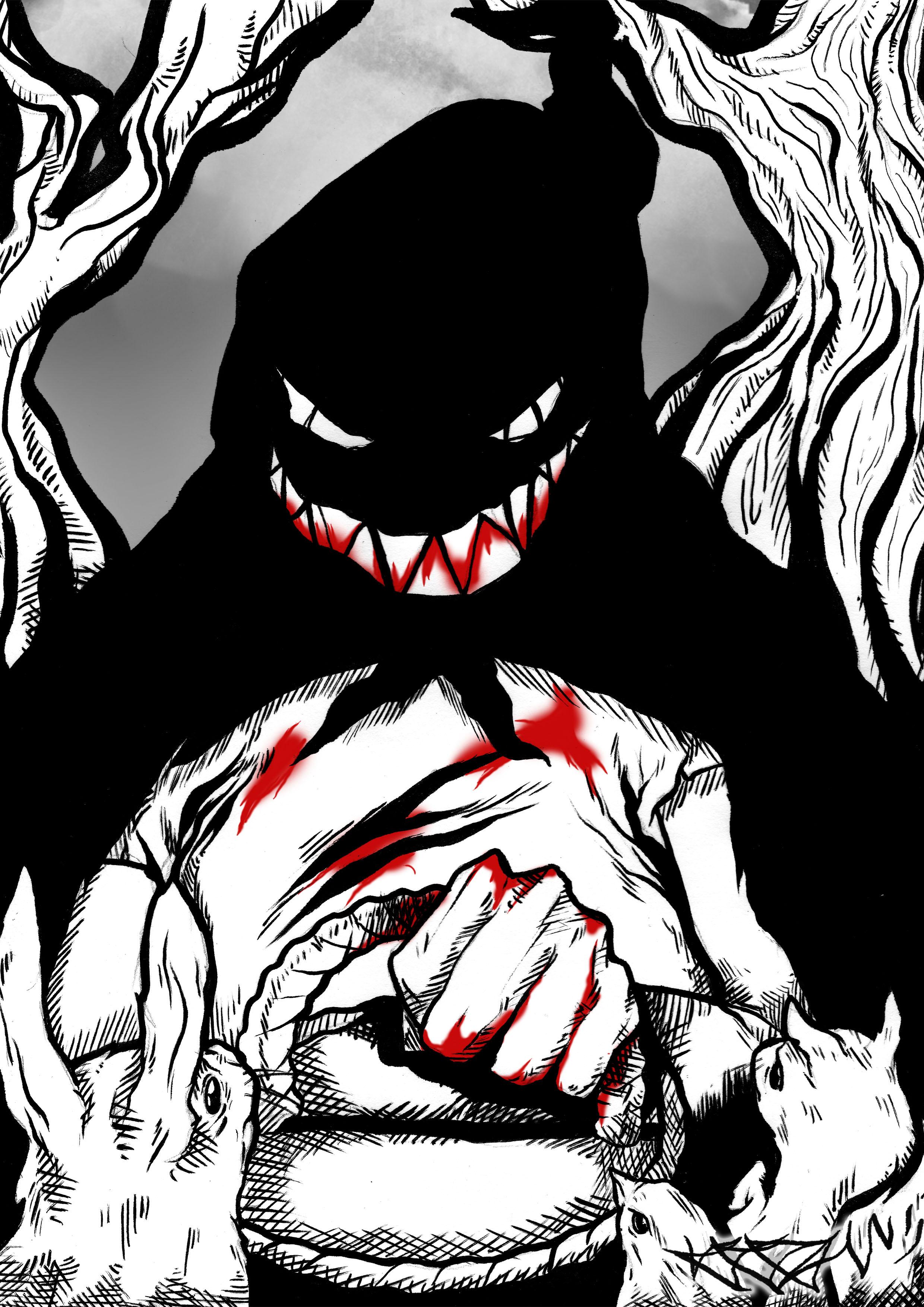 Ilustración de Krom Monk